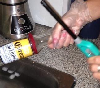 Come fare bicchieri con bottiglie di birra Corona
