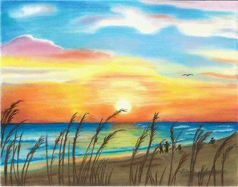 seascape-pastel-11x14.jpg_2D00_500x375.jpg 477 × 375 pixels