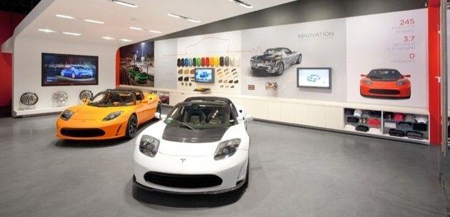 Tesla Showroom, San Jose