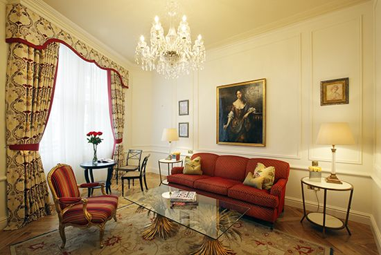 Our Suite lounge (My hOtel: The Kensington Hotel, London)