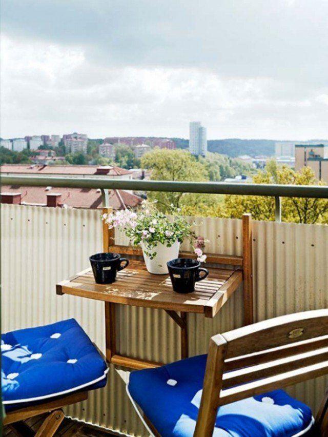 balcon-table-pliante-bois-murale armoire murale