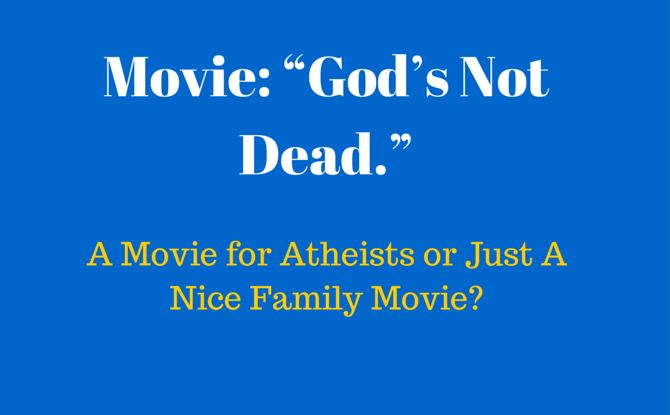I was so upset with the movie God's not Dead, I happened to leave a comment on Social Media about my distaste of the movie. The reaction was instantaneous.