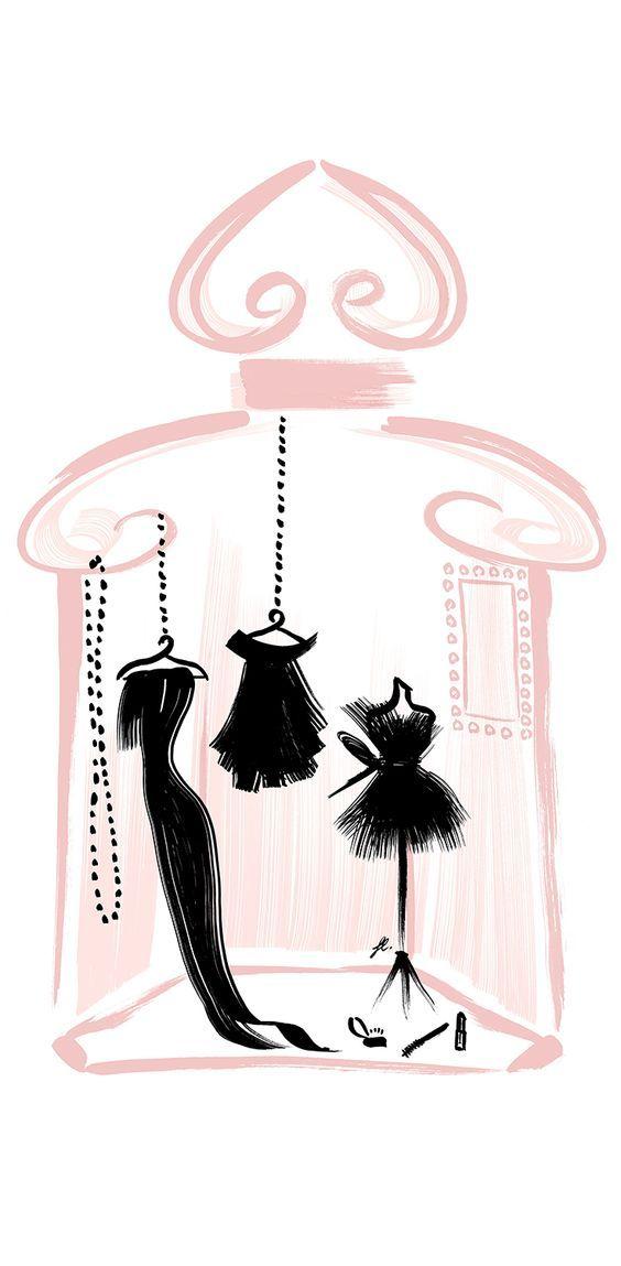 Le dressing parfumé La Petite Robe Noire: