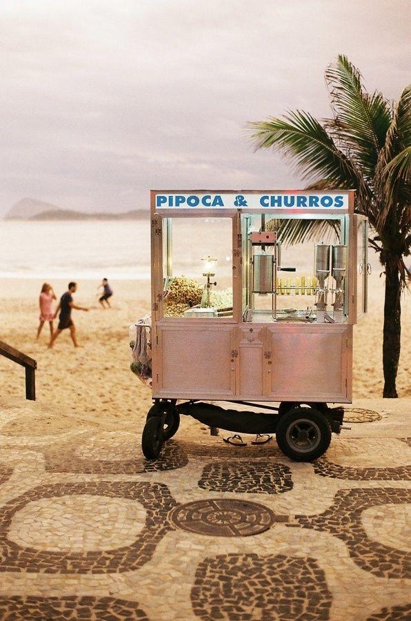 The Beach + Churros = Paradise
