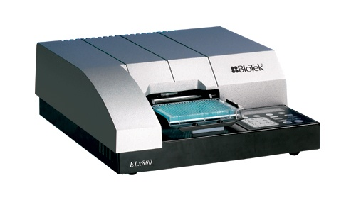 The ELx800™ is designed for applications within the clinical, biotechnology research and pharmaceutical laboratory. Its compact footprint and proven robust design makes it an ideal solution for many microplate based biological assays. The ELx800 can be controlled by Gen5 software, expanding the reader's capabilities to include kinetics and well area scanning measurements.