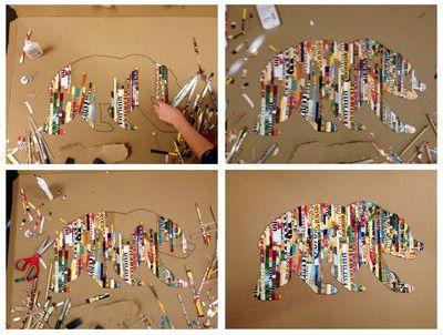 DIY Projects Pinterest | ... art: 5 Pinterest projects for moms & kids - DIY Boston - Boston.com