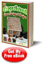 """23 Gingerbread House Designs and Recipes"" eBook   FaveCrafts.com"