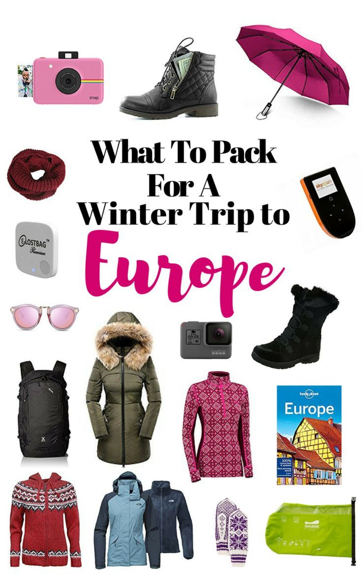 """It is not easy to figure out what to pack for a Winter-trip to Europe. That's why I have created this essential packing list that covers what to bring of clothes, bags, travel essentials and camera equipment. Think Berlin will be hot during Winter? Nope, when I was there January 2015, Berlin was even colder than Oslo. There is a saying in Norway and many other places in Europe that """"It is nothing called bad weather, only bad clothing.""""  The Viking Abroad #winter #winterpackinglist…"""