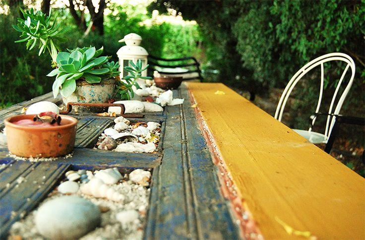 The door-table.