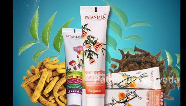 Patanjali Dant Kanti tooth paste for strong teeth and gums