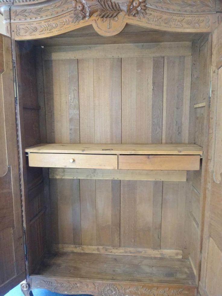 1000 id es sur le th me armoire normande sur pinterest. Black Bedroom Furniture Sets. Home Design Ideas