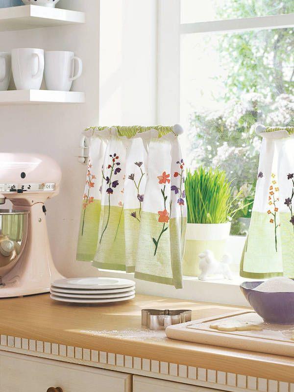 118 best cortinas distintas formas images on pinterest - Cortinas de cocinas ...