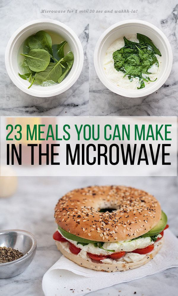 23 Dorm Room Meals You Can Make In A Microwave Everything Food College
