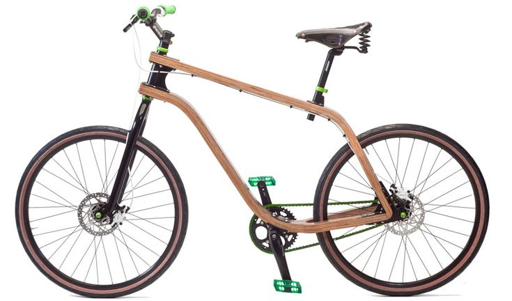 stanislaw ploski: bonobo bent plywood bike