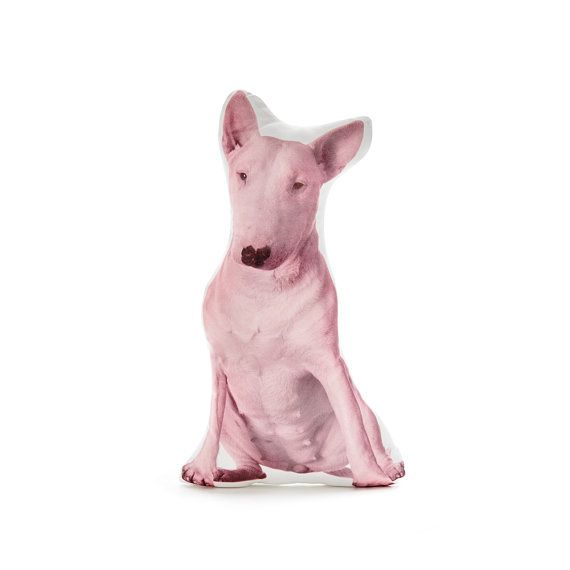 Bull Terrier Dog Pillows - By Cushion Co WORLDWIDE SHIPPING- Bull Terrier, Terrier Dog, Bull Terrier Mum, Terrier Lover, Dog Lover Gift, Pink Cushion, Pink Pillow, Gift for Brother, Pillow Decor, Dogs, Cute Terrier, Terrier puppy, Terriers great and small.