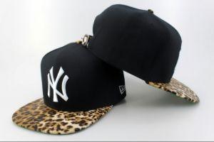 Casquette NY New York Yankees MLB Leopard Snapback Noir : Casquette Pas Cher