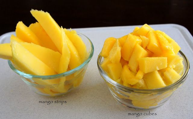 Two easy ways to cut a mango! Step-by-step tutorial!