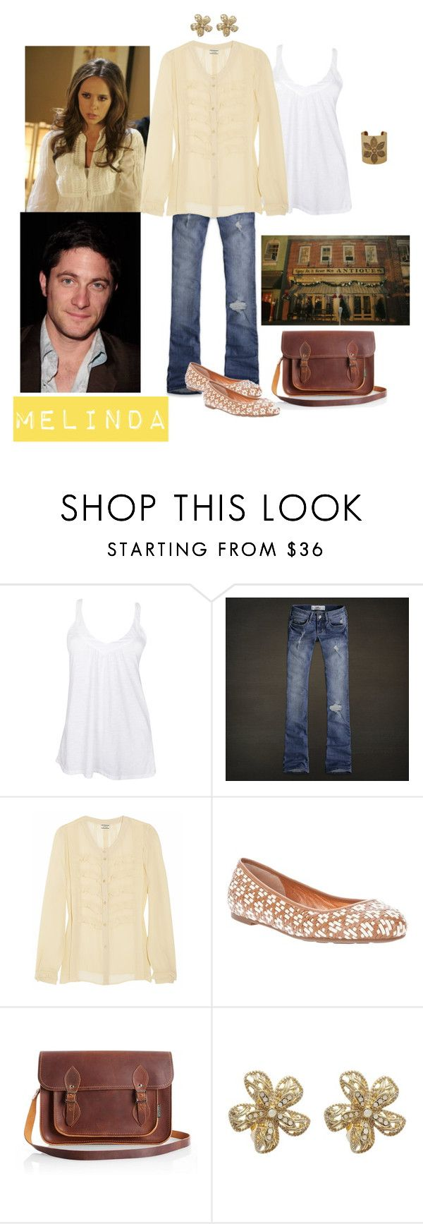 """""""Melinda Gordon 2"""" by tinyturtle73 ❤ liked on Polyvore featuring Fresh Laundry, Hollister Co., By Malene Birger, Marc by Marc Jacobs, Zatchels, Carolee and Forever 21"""
