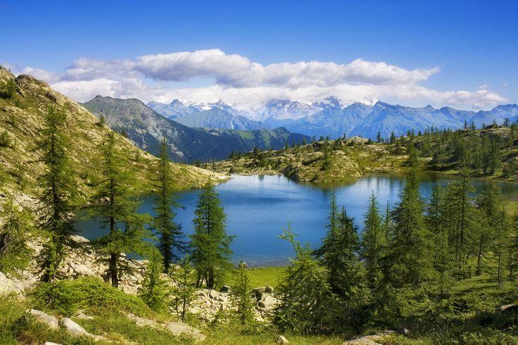 Lago Bianco, Parco Naturale Mont Avic, Champdepraz, Valle d'Aosta
