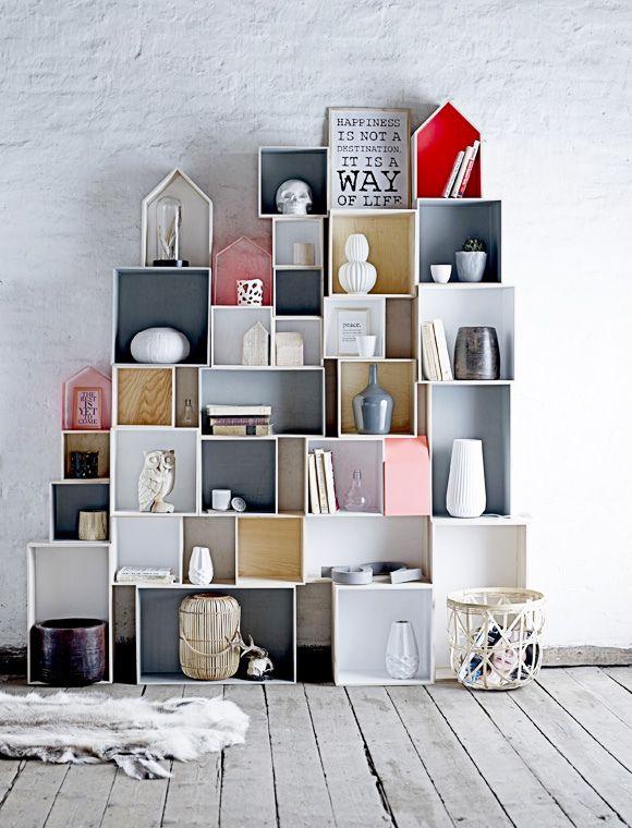 Pretty storage  display idea (decor8blog.com)