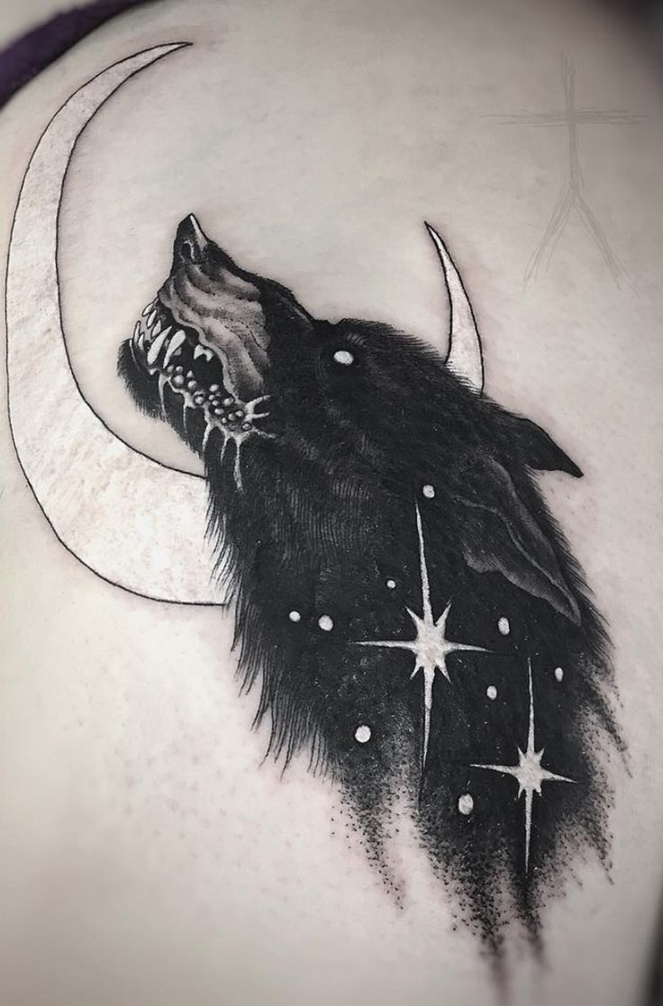 Obscure dark tattoos by Christopher Jade