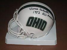 VINCE COSTELLO signed Ohio University Bobcats Mini Helmet 1952 All American OU