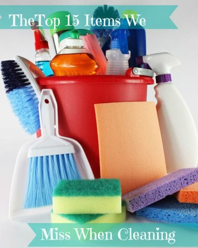 The owner of a professional cleaning service lists the 15 most over-looked places when cleaning