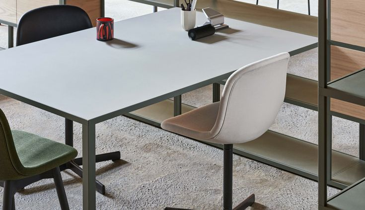 New Order desk and Neu 10 chair