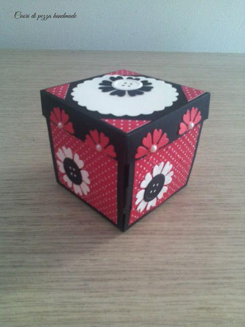 Cuori di pezza: Explosion box Minnie