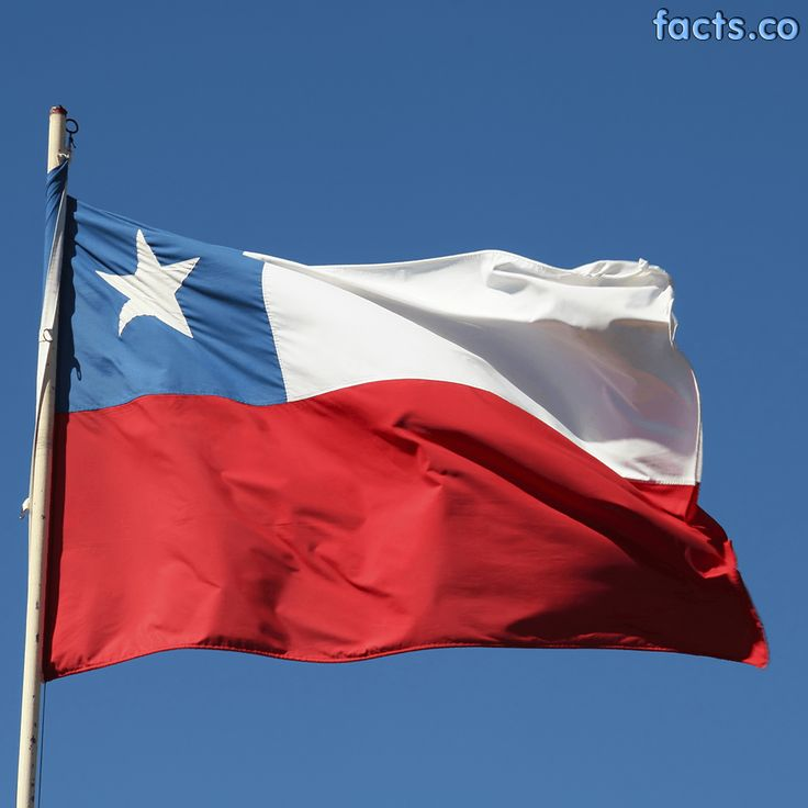 Chile Flag colors - Chile Flag meaning history