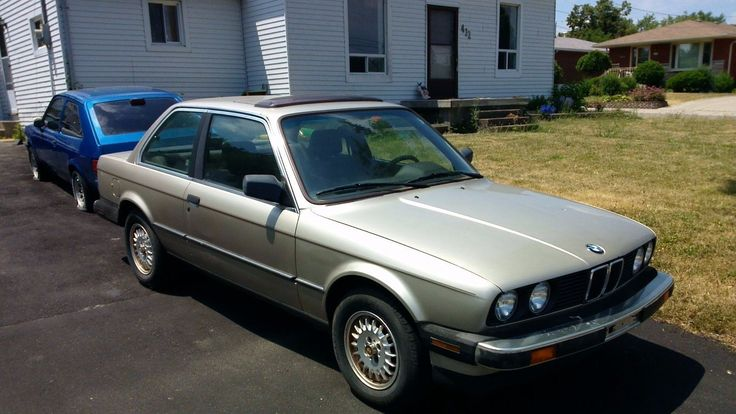 Car brand auctioned:BMW: 3-Series 1986 Car model bmw 325 e