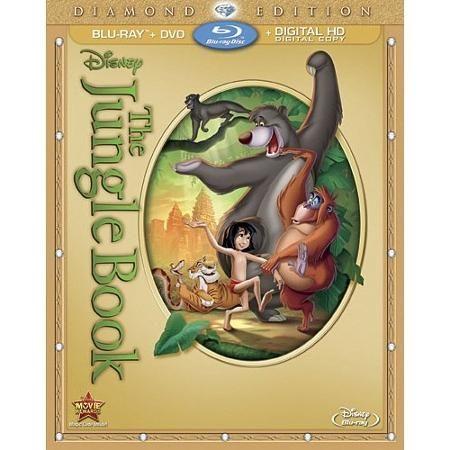 The Jungle Book (Diamond Edition) (Blu-ray + DVD + Digital Copy) (Widescreen) - Walmart.comfor all of the kids