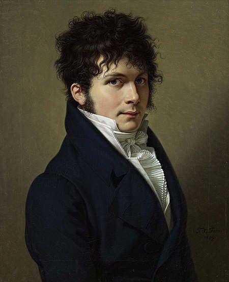 François-Xavier Fabre  Portrait of a Man 1809