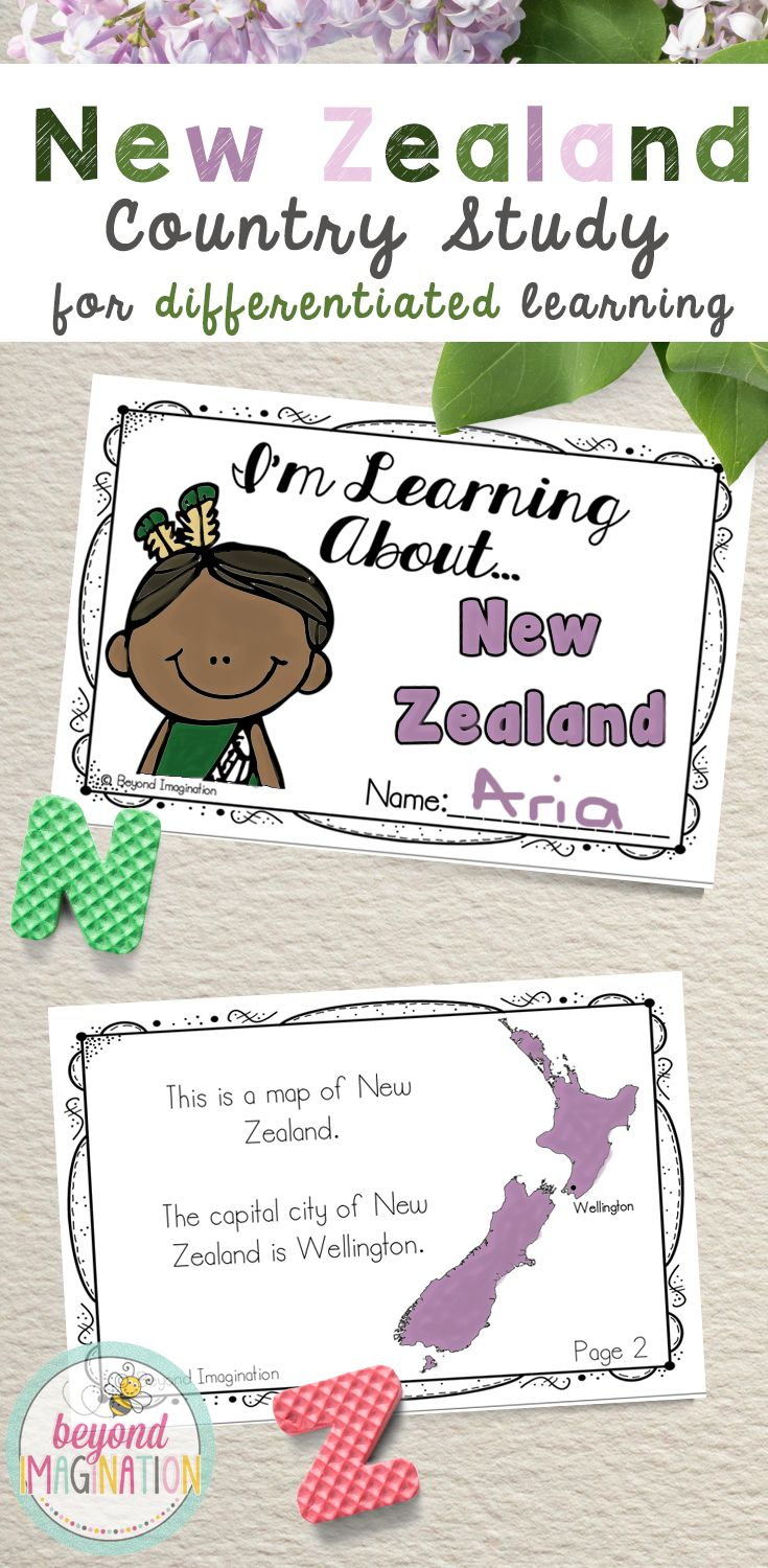 Travel to the country of New Zealand via the comfort of your own elementary classroom. Includes super fun boarding passes and postcards. This fun fact country study project is perfect to use for an around the world unit, an international day, an international festival, a social studies unit, a cultural school project, a geography project, a cultural day, a cultural fair, a field day, or a multicultural day. Find out more about how you can explore New Zealand with your students by clicking on…
