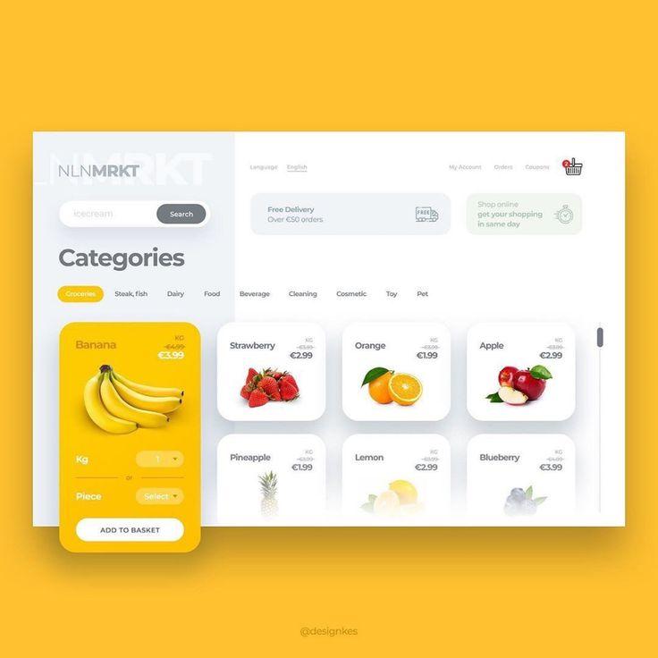 🅳🅴🆂🅸🅶🅽🅸🅵🆈 в Instagram: «Design by @designkes . Follow us @designify_ for daily UI/UX, Logo Design and Web Graphics inspir…