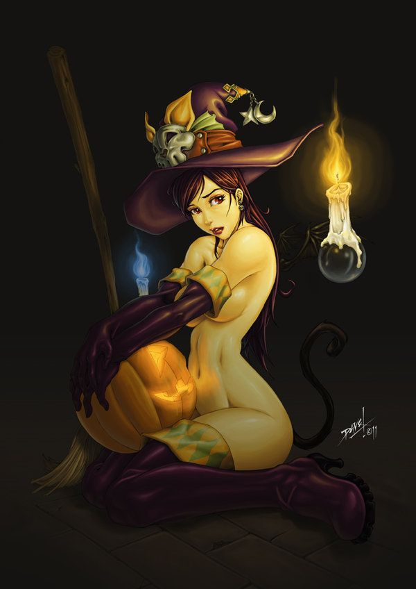 Itchy Bitchy Witchy by ~G-David on deviantART                                                                                                                                                                                 More