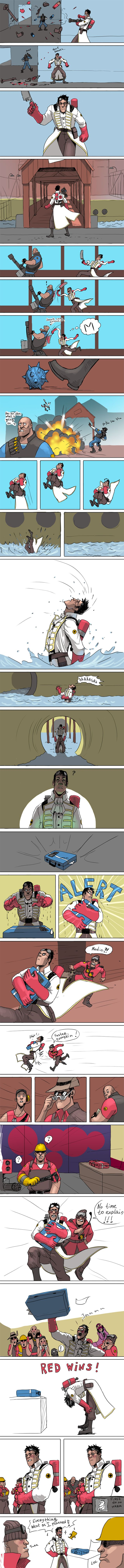Do-no-harm by Arvense (Pretty accurately describes me playing medic, except I die two feet from our base and someone else claims the victory)