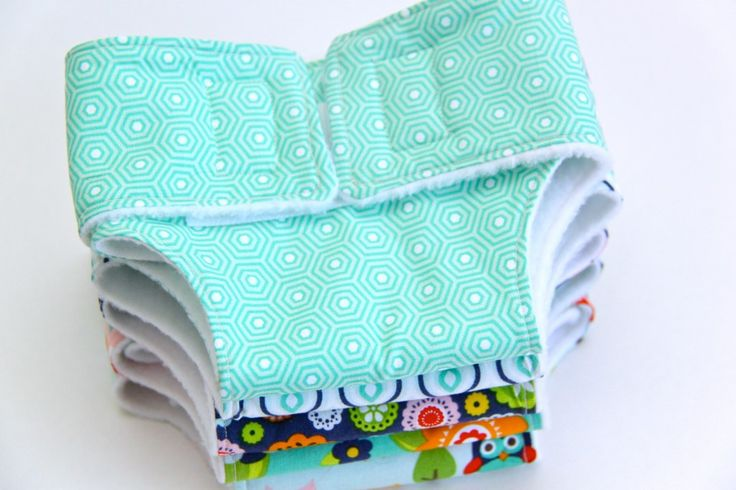 How to make Dolly Diapers and a Free PDF Pattern **PATTERN PIECE IN BOX**