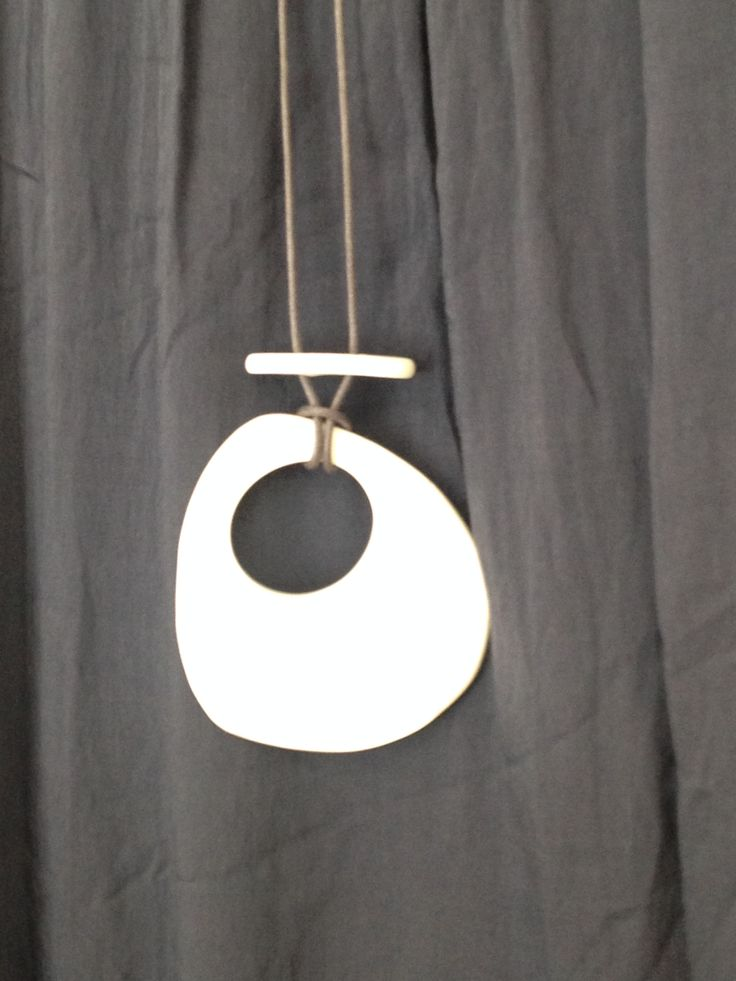 White Pendant Necklace