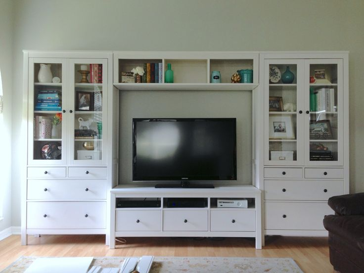 Ikea Hemnes Entertainment Center Like This But Need