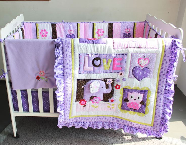 27 best Better Baby Girl Crib Bedding Sets images on Pinterest ... : baby quilt sets - Adamdwight.com