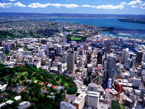 Auckland, New Zealand    Aukland has one sailboat per 3 people.
