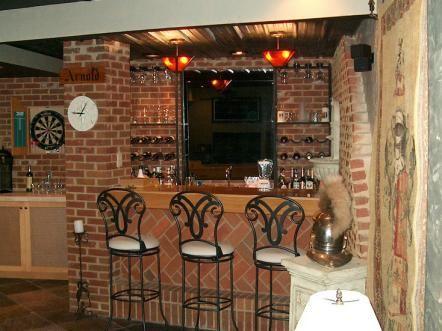 The 25 best Rustic basement bar ideas on Pinterest