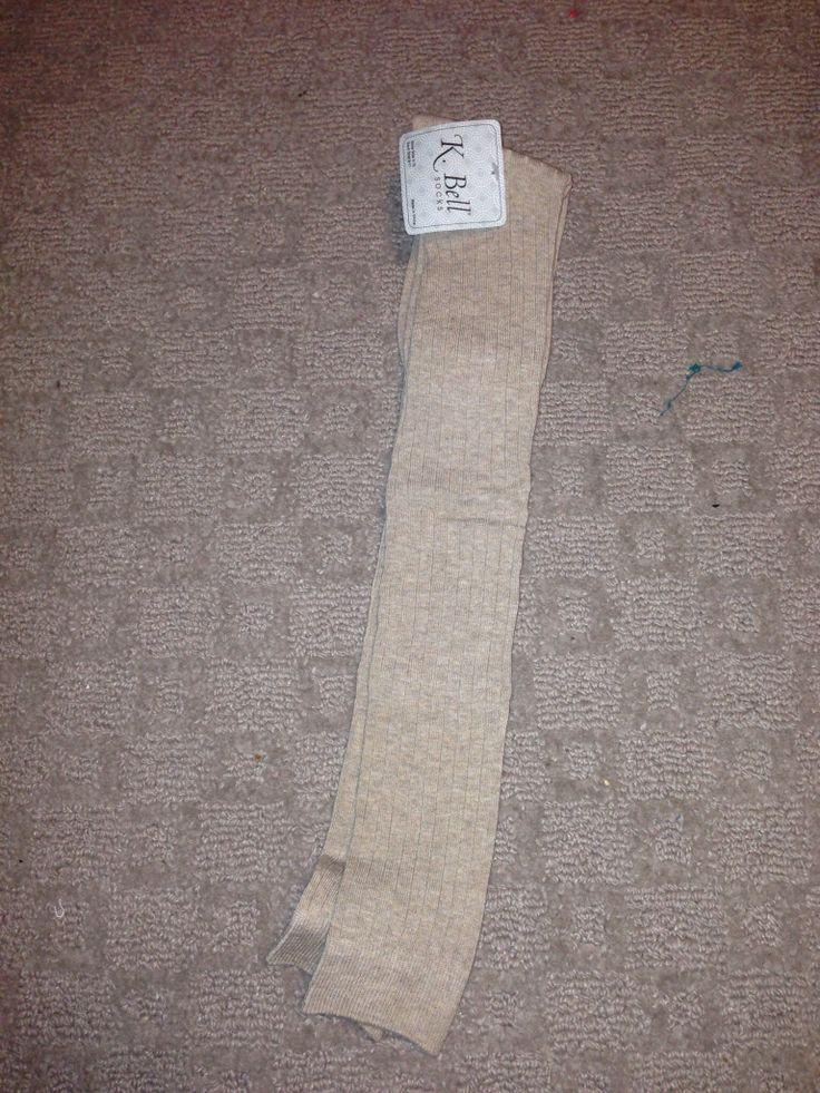 Long Socks - Beige