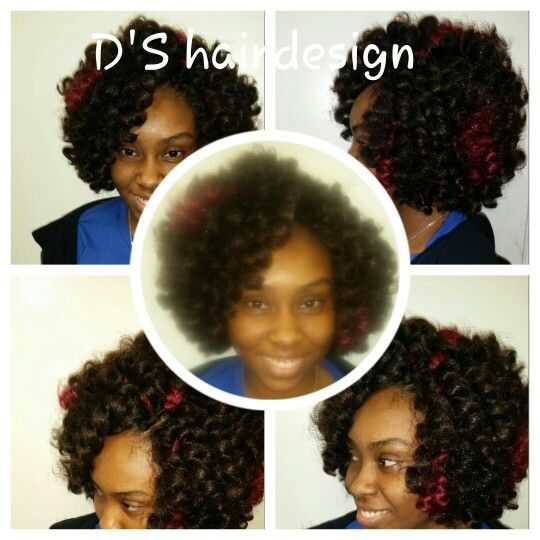 Crochet Braids Jamaica : Crochet braids done with Jamaican bounce hair. .. DS HairDesign ...