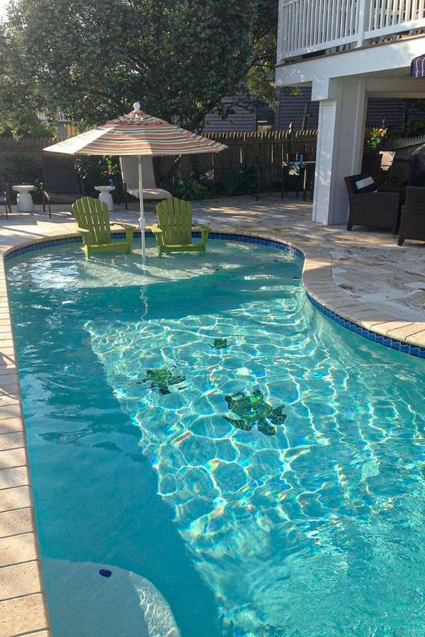 46 Wonderful Backyard Pool Ideas For You And Your Family Page 43 Of 46 Lasdiest Com Daily Women Blog Small Pool Design Backyard Pool Landscaping Small Backyard Pools