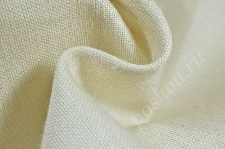 Шёлковая ткань сливочного цвета