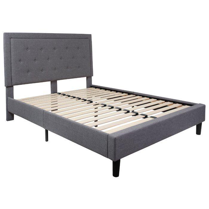 Porcaro Tufted Upholstered Platform Bed Upholstered Platform Bed