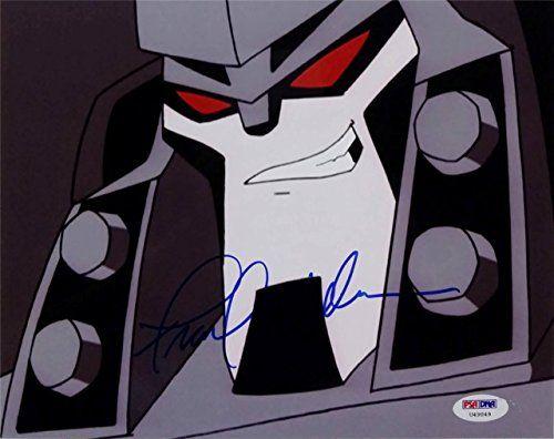Frank Welker Signed Transformers Megatron 8x10 Photo PSA/DNA U49049 Auto @ niftywarehouse.com