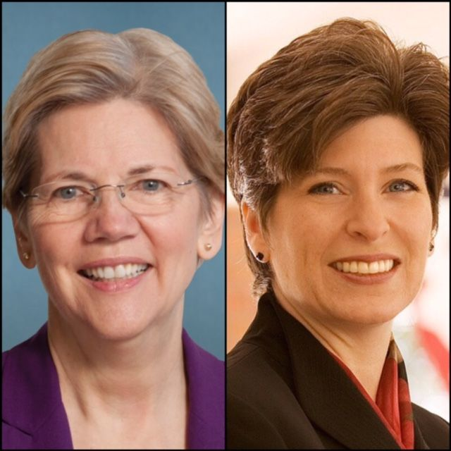 Two Senators, Joni Ernst and Elizabeth Warren, grew up very poor. However, Ernst's family has received copious amounts of federal dollars, while Elizabeth Warren's never took a dime. How then can E...